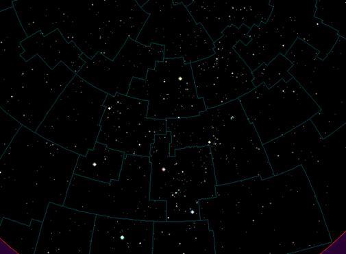 картинки созвездия звёздного неба